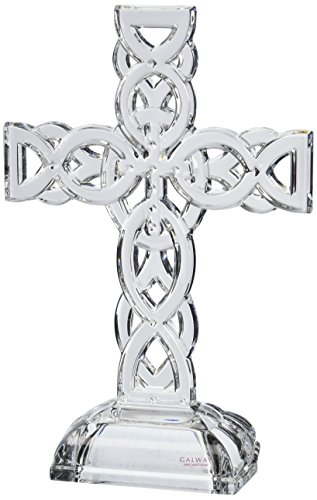 Belleek Celtic Cross (Belleek Pottery 34002 Celtic Cross, 11.4-Inch, Clear, Set of 1)