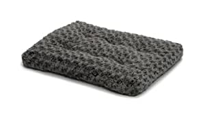 """MidWest Quiet Time Pet Bed Deluxe Gray Ombre Swirl 23"""" x 18"""""""