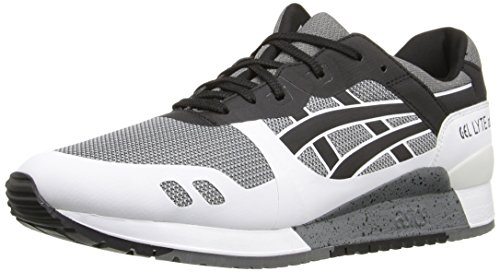 ASICS Men's Gel-Lyte III NS Fashion Sneaker, Grey/Black, 9 M US Asics Mens Ultimate Tiger