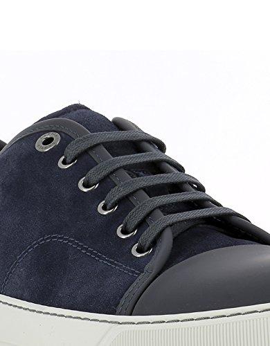 Lanvin Hombre SKDBB1VEGOE17291 Azul Cuero Zapatillas