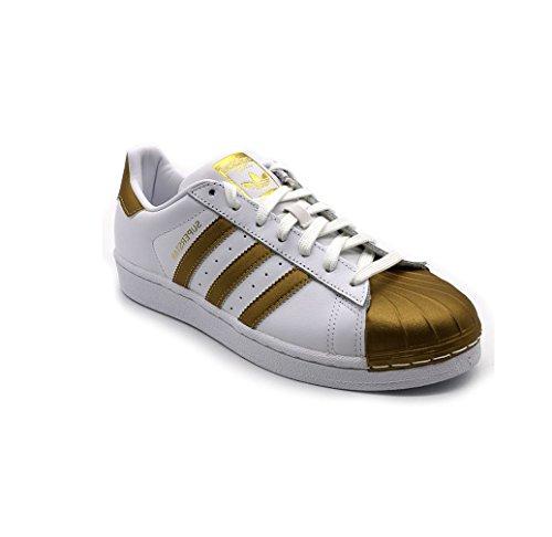 Adidas Originals Superster Metalen Pak Heren Schoenen Van De Trainerstennisschoenen (us 9, Zwarte Goud S81726)