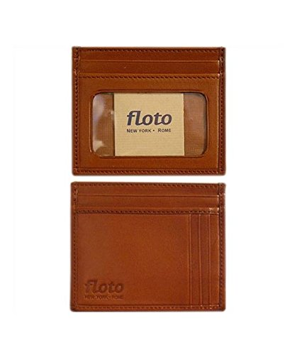 Firenze Leather Card Case Color: Tan - Firenze Card Case