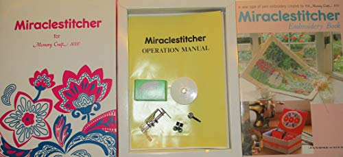 (Miraclestitcher for Memory Craft 8000 with Miraclestitcher Embroidery Book)