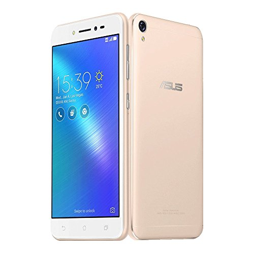 ASUS ZenFone Live ZB501KL 16GB ROM 2GB RAM 5.0-Inch 13MP Dual SIM FACTORY UNLOCKED International Stock No Warranty (SHIMMER GOLD)