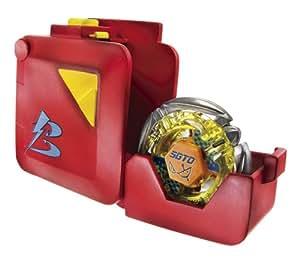 Hasbro Beyblade Metal Fusion Super lanzador Deploy Case - Lanzador para peonzas Beyblade
