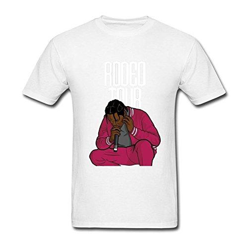 CNTJC Men's Travis Scott's Rodeo Tour T Shirt L