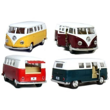 Volkswagen Classical Bus 1962 Colors May Very (Only 1 Truck Shipped Per Order) (Bus Truck Volkswagen)