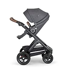 Stokke Trailz, our amazing all-terrain stroller, is built for action and takes you wherever you want to go effortlessly with ease and comfort. Like all Stokke Strollers, the seat and carry cot position are placed high up to encourage eye cont...