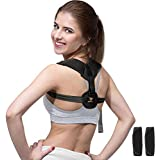 Posture Corrector for Men and Women, Jerrybox Back Brace for Clavicle Support and Providing Pain Relief from Neck, Back & Shoulder