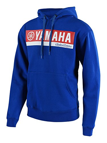 - 2018 Troy Lee Designs Yamaha RL1 Pullover Fleece Hoody-Blue-L