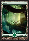 Zendikar Full Art Forest - Zendikar Basic Land - Green Mana