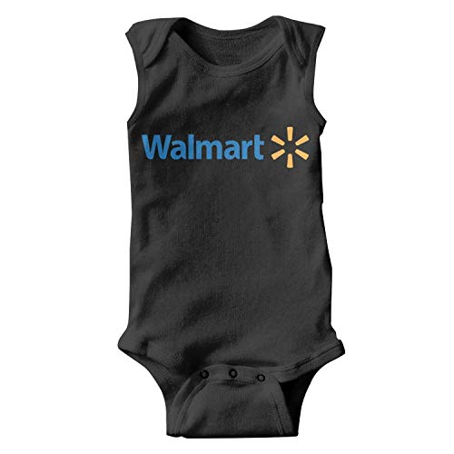 (Unisex Comfort Walmart-Simple-Logo- Baby Long Sleeve Onesie Rompers Outfits for Newborn Baby Boy Girl 0-24 Months Gift)