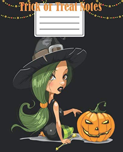 Halloween Fun Pages (Trick or Treat: 7.5X9.5 Soft Cover High quality white paper  Fun Halloween  100)