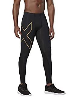 40518543f1507b 2XU Men's Elite Power Recovery Compression Tights: Amazon.co.uk ...
