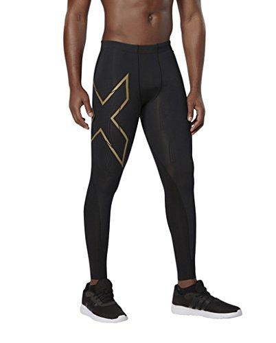 2xu Gold Da xform Pantaloni Elite Mcs Compressione Uomo Black A Mens vwHrpqxv