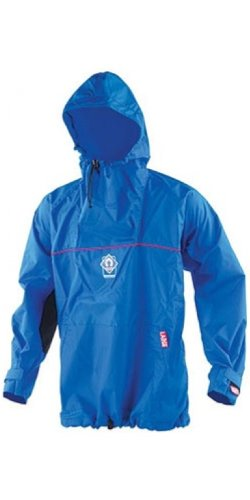 Crewsaver Boating and Sailing - Centre Junior Hooded Smock Top Blue 6617-A - Unisex - Constructed from 6oz Nylon