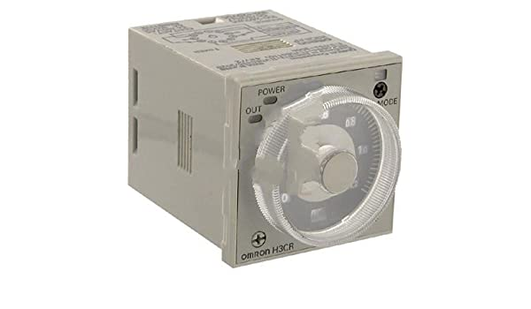 Omron Automation H3CRAPAC100240DC100125, Timer; SS; On Delay; DPDT; Cur-Rtg 5, 0.15A; Ctrl-V 100-240/100-125AC/DC; 11-Pin: Electronic Components: ...