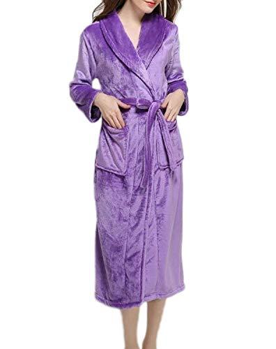 Moda Ligero Cálida Simple De Bufanda Damas Bata Azul Cuello Lujo Vestido Ducha Suave Hombres Cómodo Bastante Pijama Franja Adulto Baño UwqwEBO1Z