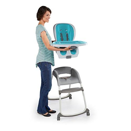 Ingenuity SmartClean Trio 3-in-1 High Chair, Aqua by Ingenuity (Image #7)