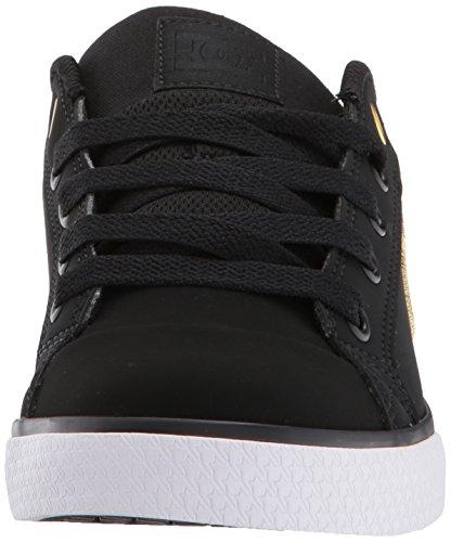 DC Womens Chelsea SE Skate Shoe Black/Gold qB6NGU