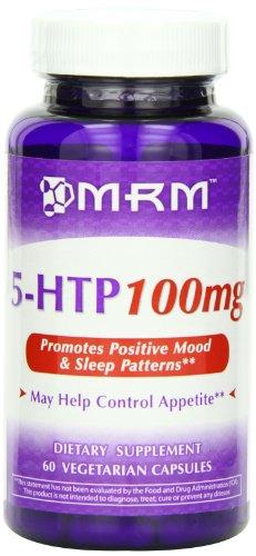 MRM 5-HTP Vegetarian Capsules, 100 mg, bouteilles 60-Count