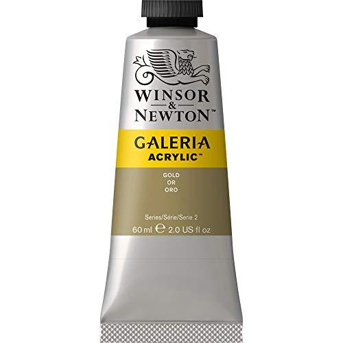 Winsor & Newton WIN2120283 Reeves Tube Galeria Acrylic Paint to Galeria Acrylic Color Tube, 60 mL, Gold