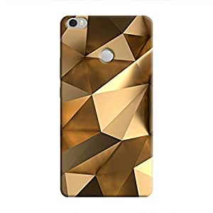 Cover It Up - Gold Angles Mi Max Hard Case