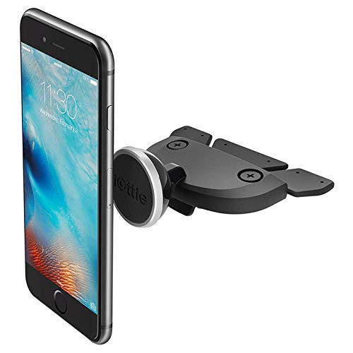 iOttie iTap Magnetic CD Slot Premium Car Mount Holder for iPhone X 8/8s 7 7 Plus 6s Plus 6s 6 SE Samsung Galaxy S9 Plus S9 Plus S8 Edge S7 S6 Note 8 5