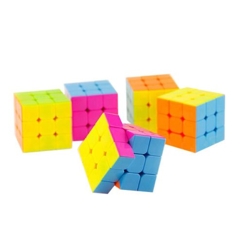 Baby Professor X Costume (Rubik's Cube Stickerless-Magic-Cube-Speed-Puzzle-Intelligence-Toy)