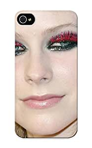 Design High Impact Dirt/shock Proof Case Cover For Iphone 5/5s (avril Lavinge)