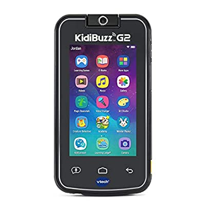 VTech KidiBuzz G2 Kids' Electronics Smart Device with KidiConnect, Black: Toys & Games