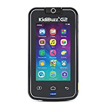 VTech KidiBuzz G2 Kids' Electronics Smart Device with KidiConnect, Black