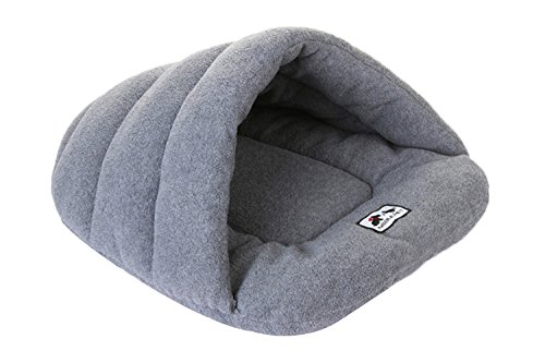 Spring fever Washable Soft Comfort Warm Colorful Pet Bed Dog Puppy Cat House Grey S (15.018.9 inch)
