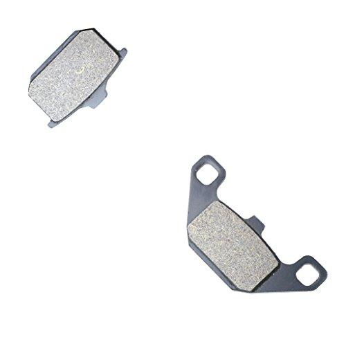 Price comparison product image CNBK Rear Brake Shoe Pads Resin for KAWASAKI Street Bike GPZ750 GPZ 750 KZ750E D635 0 83 84 85 86 87 1983 1984 1985 1986 1987 1 Pair(2 Pads)