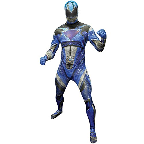 Morphsuits Official Blue Deluxe Movie Power Ranger Fancy