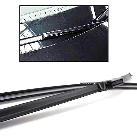 Xukey - Juego de 2 escobillas limpiaparabrisas delanteras para AudiA6 C6 4F Allroad Quattro S6 RS6 (26 pulgadas): Amazon.es: Coche y moto