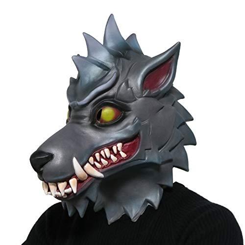 CoserWorld Costume Latex Mask Dire Mask Max Werewolf -