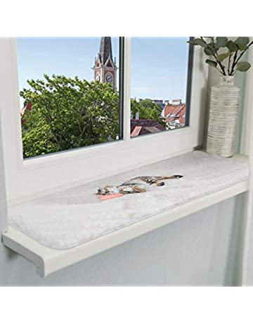 Lignodur Topline LD36 Innenfensterbank beton grau 200 mm Ausladung inkl 1800mm Seitenabschl/üsse Fensterbank