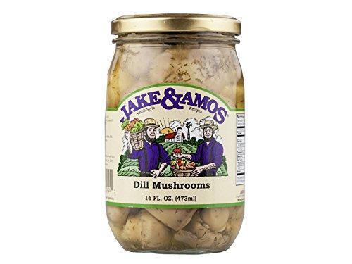 Jake & Amos Dill Mushrooms, 16 Ounce - 3 - Mushrooms Dill