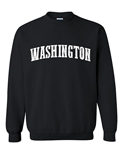 Ugo WA Seattle Map Cougars Redhawks Huskies Home University of Washington Unisex Crewneck - University Map Village Seattle