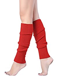59f32937f0 Women Juniors 80s Eighty s Ribbed Leg Warmers for Party Sports