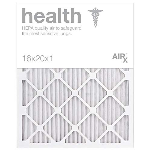 AIRx HEALTH 16x20x1 13 Pleated Air Filter USA Box 6