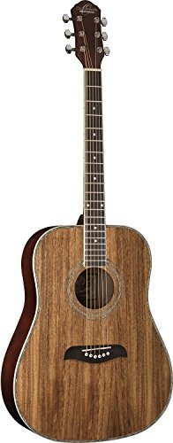 Oscar Schmidt 6 String OG2 Dreadnought Acoustic Guitar. Koa, Right (OG2KOA-A)