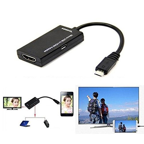 Tel Usb - TelDen USB C Adapter, 0.55ft USB Male to HD Multimedia Interface Female Adapter Cable, Support OTG Function for Android