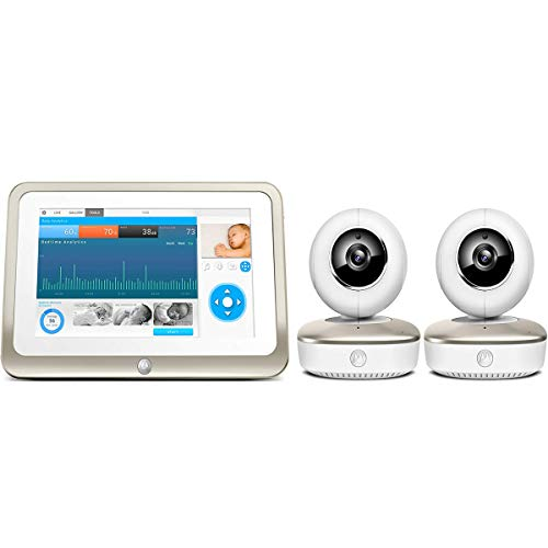 Motorola Smart Nursery 7 Dual Mode Baby Monitor with Touch Screen & Two Camera (Renewed)