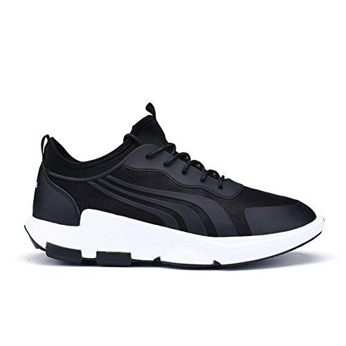 Uomo Sportivo Scarpa Casual, Scarpa Sportiva Leggera E Comoda, Scarpe Sneakers Qzbeita Soft, Nero, 10 D (m) Us