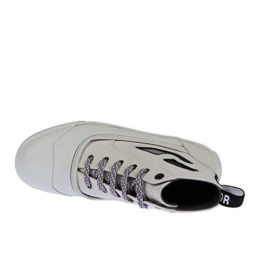 In 39 E Lanvin Bianca Pelle Gomma Sneaker SxHw8ERqg