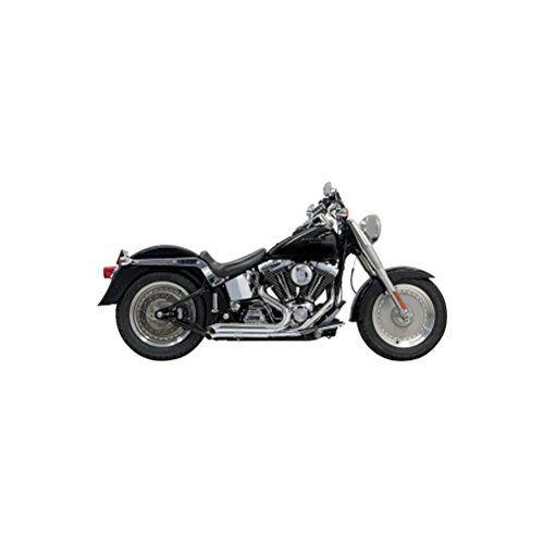 (98-17 HARLEY FLSTC: Bassani Xhaust Pro Street Turn Out Exhaust)