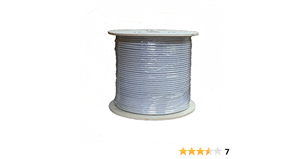 Amazon Com Sunnytech 1000ft Cat7 S Ftp Bulk Cable 1200mhz Awg 23 1 Solid 10gbase T Data Ul Etl Ghmt Cat7 Certified W 20 Plug Boot Cap Free Computers Accessories