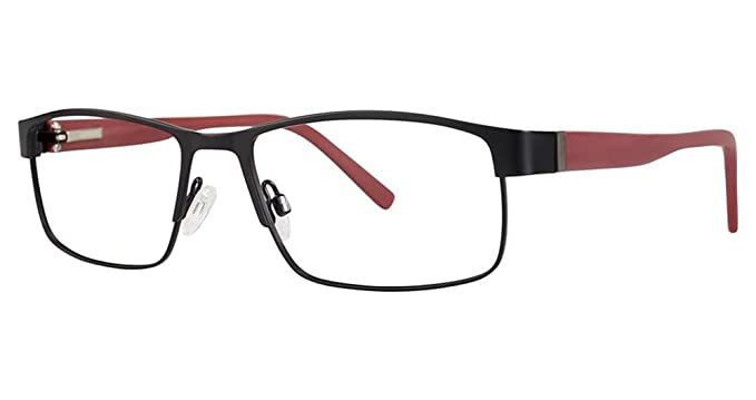 8a6298d583 BIG Danger Men s Eyeglasses - BMEC Frames - Matte Black Brick 58-18-